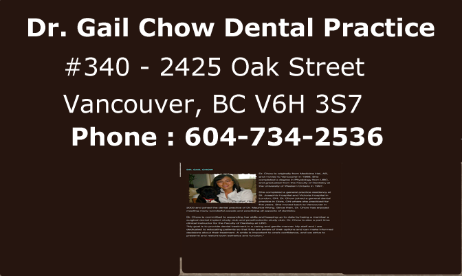 Dr. Gail Chow Dental Practice