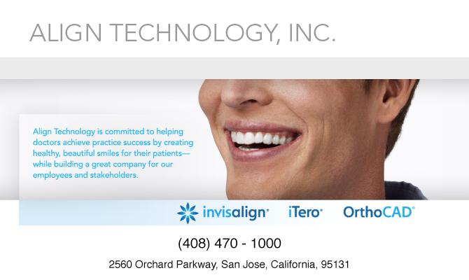 Align Technology Inc.- Invisalign system