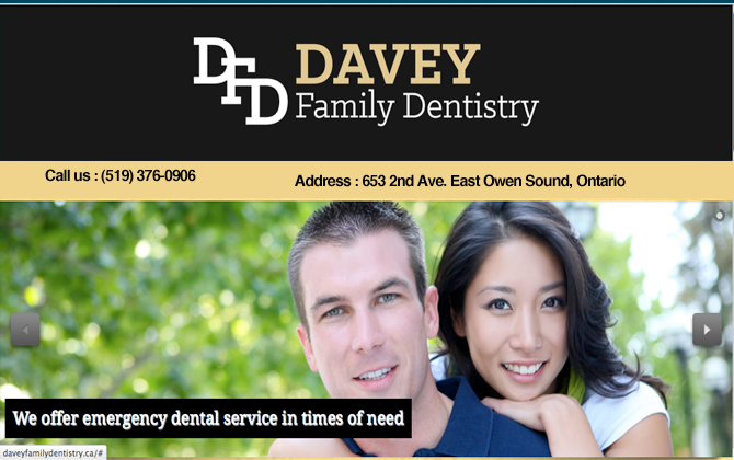Dr. Randy Davey Family Dentistry -Owen Sound, Ontario