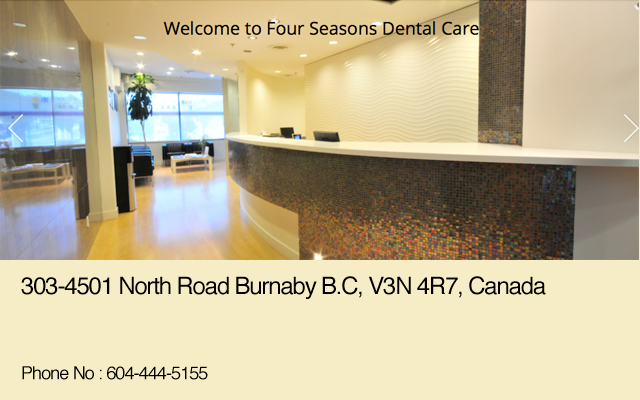 Four Seasons Dental Care Burnaby BC Dentist