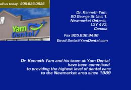Dr. Kenneth Yam |Newmarket  Dental Service