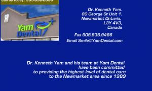 Newmarket Dentist | Dr. Kenneth Yam | Yam Dental