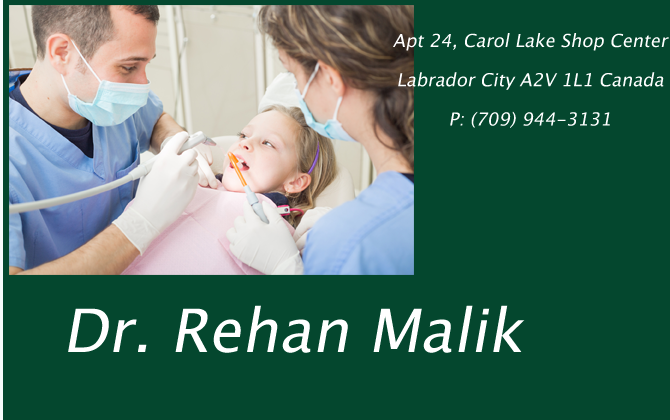 Dr. Rehan Malik at Carol Lake Shop Center Labrador City