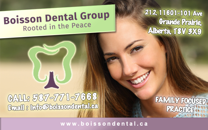 Boisson Dental Group | Grande Prairie Family Dentistry