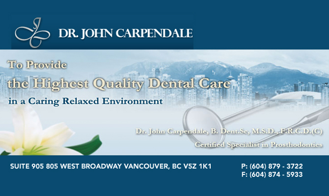 Dr. John Carpendale