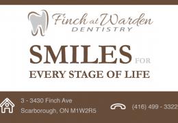 Finch at Warden Dentistry