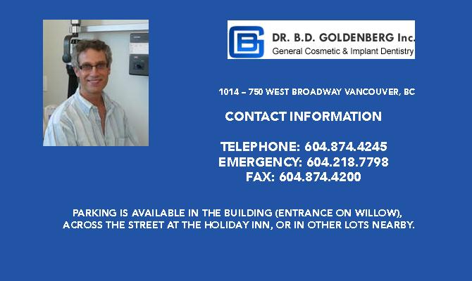 Dr. Brian Goldenberg Dental Services