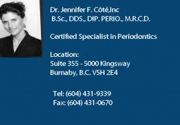 Dr. Jennifer F. Côté Inc