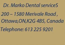 Dr Marko Ottawa Dental Service