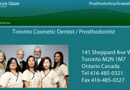 Toronto Cosmetic Dentist / Prosthodontist