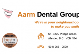 Aarm Dental Group Whistler