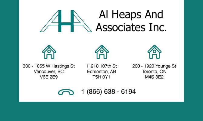 Al heaps and Associates Inc