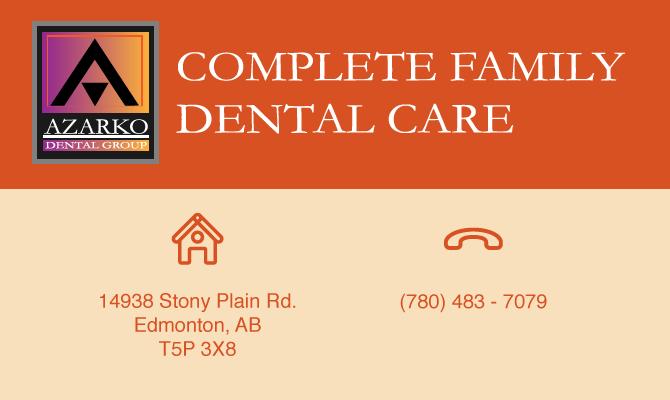 Azarko Complete Family Dental Care  –  WEST