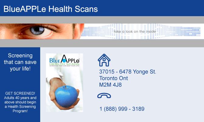 Blueapple Health Scans
