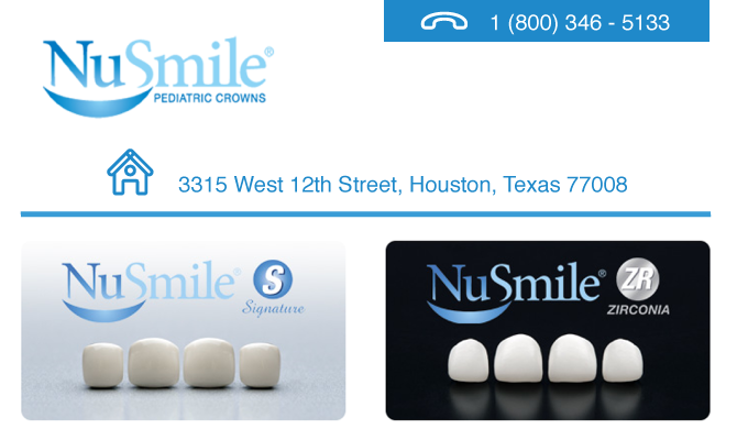 NuSmile Pediatric Crowns