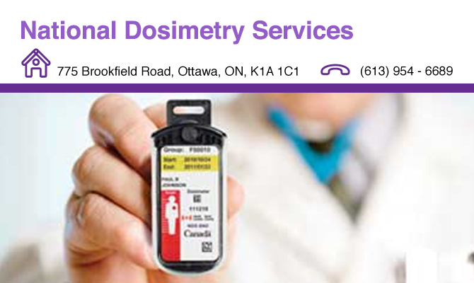 National Dosimetry Services