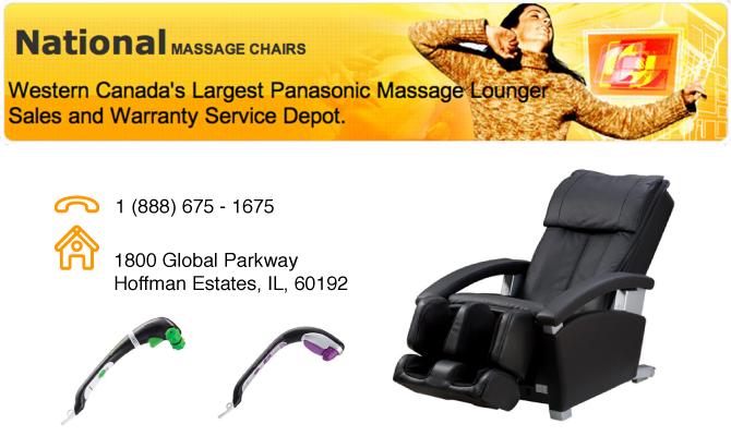 National Massage Chairs