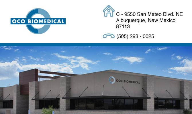 OCO Biomedical Inc