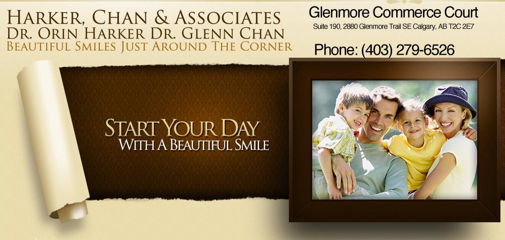 Dr. Orin Harker & Dr. Glenn Chan Calgary Dentists