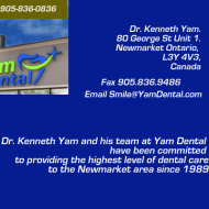 Newmarket Dentist | Dr. Kenneth Yam | Yam Dental