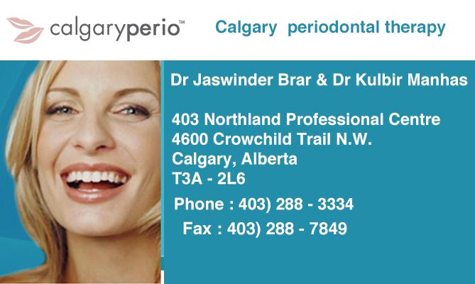 Calgary Perio ! Dr  Brar & Dr Manhas