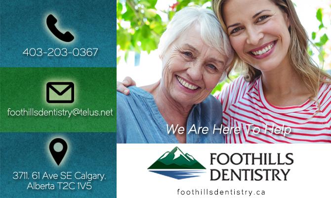 Foothills Dentistry Calgary Dentist | Dentist on 61 Ave SE Calgary