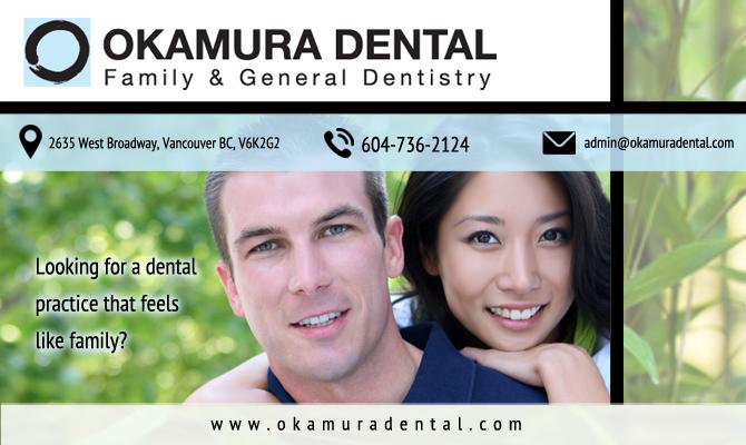 Okamura Dental | Broadway Vancouver Dentistry