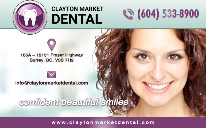 Clayton Market Dental | Dentist In Surrey BC