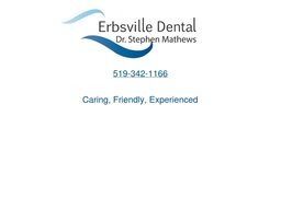 Wide selection of family dental services by Erbsville Dental