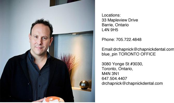 Dr. Adam Chapnick | Cosmetic Dentistry Toronto