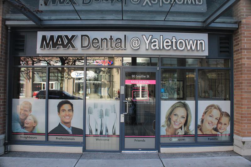 MAX Dental in Yaletown