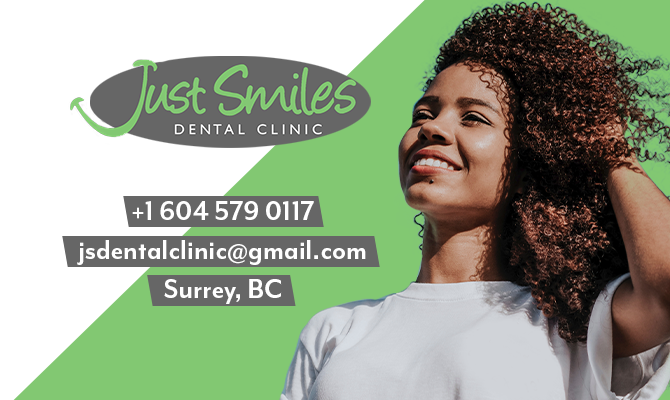 Just Smiles Dental Office in Surrey